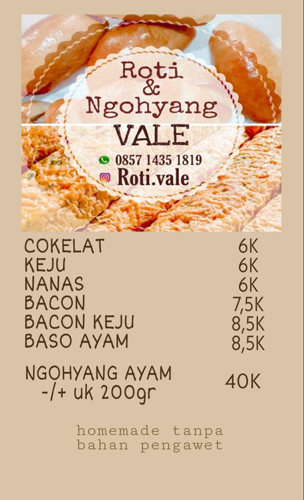 Roti & Ngohyang Vale