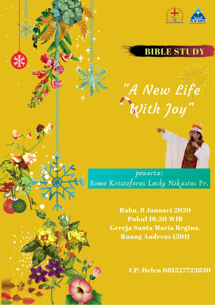 KKMK: Bible Study - A New Life With Joy