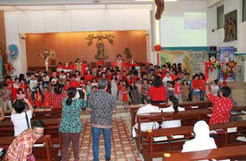 Misa Imlek 2020: Inkulturasi dan Tradisi