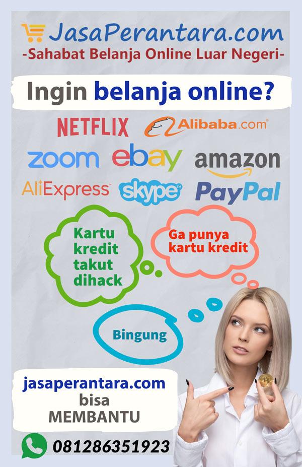 JasaPerantara.com - solusi BELANJA online LUAR NEGERI